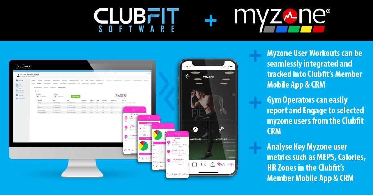 Clubfit Myzone Integration