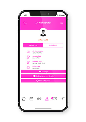 Mobile Membership Management