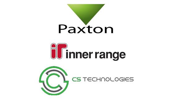 Paxton, Inner Range, CS Technologies