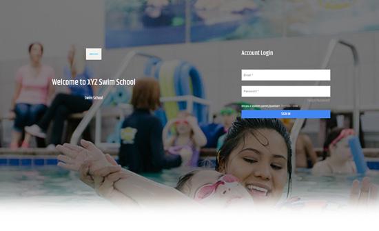 Swim School Portal